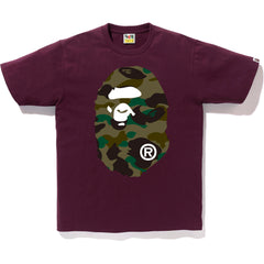 822e32827 NEW 1ST CAMO BIG APE HEAD TEE MENS