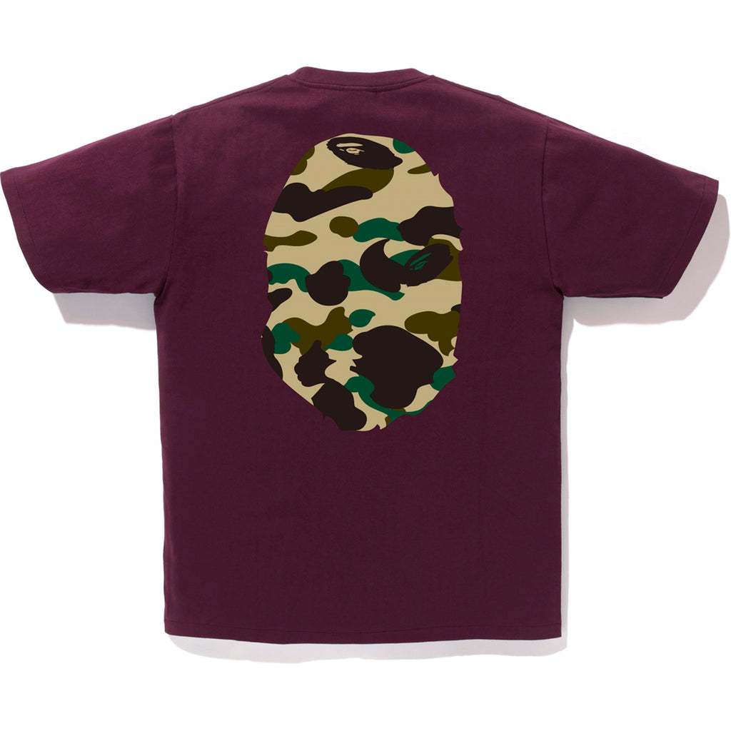 1ST CAMO BIG APE HEAD TEE MENS