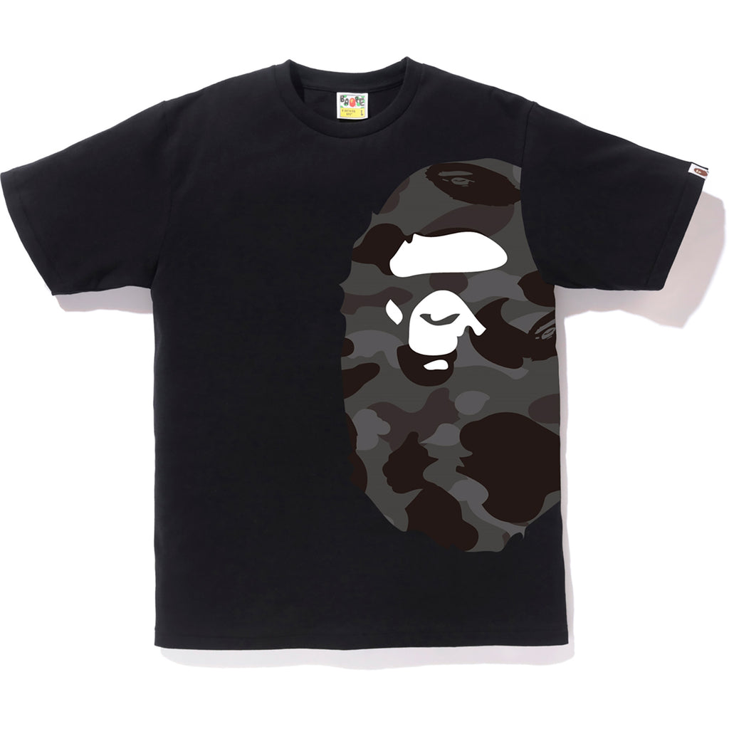 1c110ee9a COLOR CAMO SIDE BIG APE HEAD TEE MENS | us.bape.com