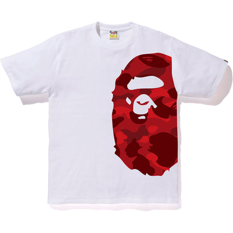 COLOR CAMO SIDE BIG APE HEAD TEE MENS