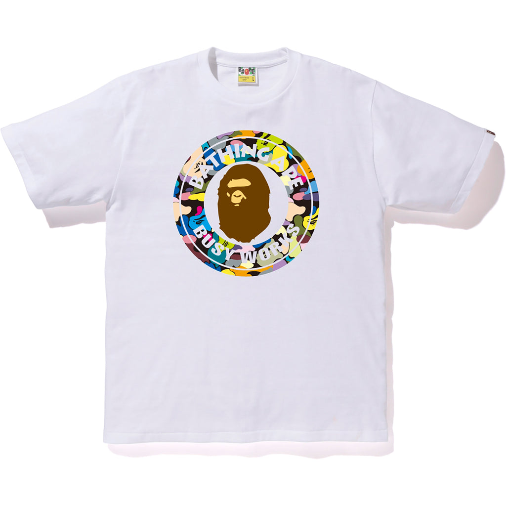 MULTI CAMO BUSY WORKS TEE MENS