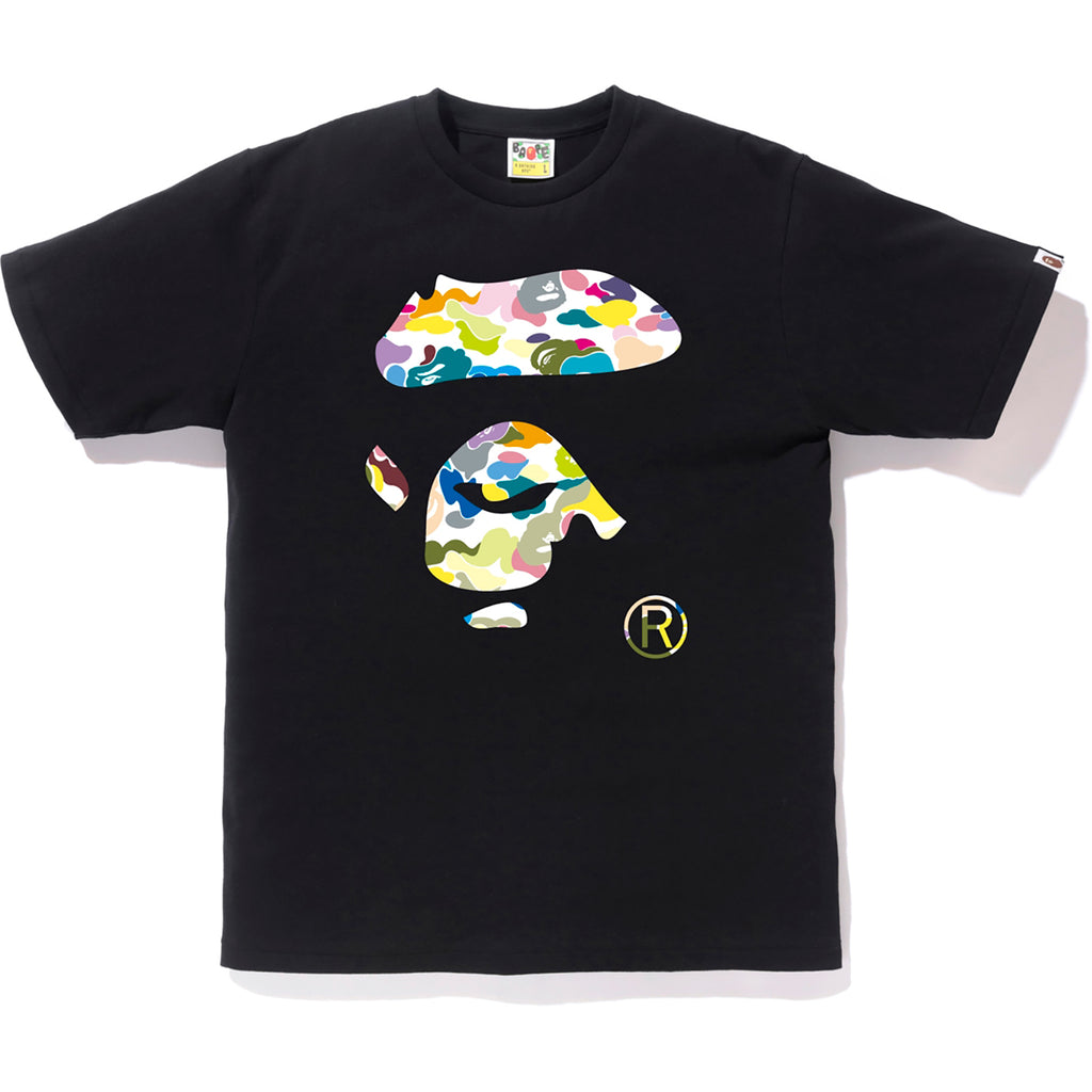 MULTI CAMO APE FACE TEE MENS