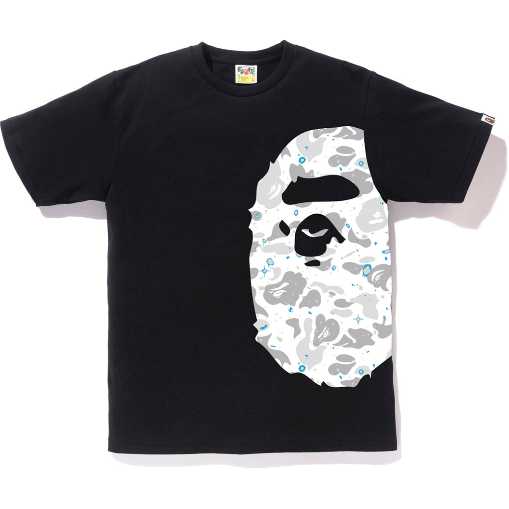 d09229eb9 SPACE CAMO SIDE BIG APE HEAD TEE MENS | us.bape.com