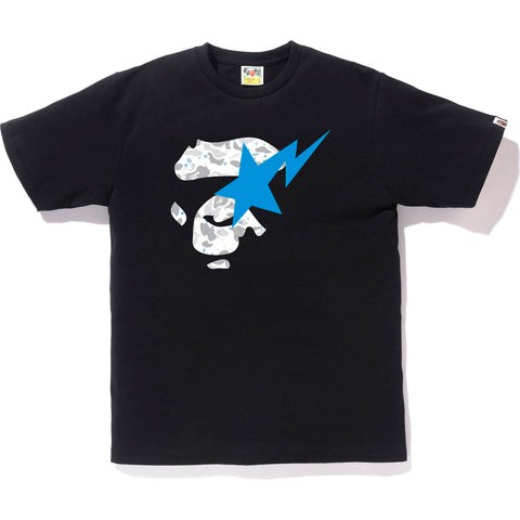 SPACE CAMO APE FACE ON BAPESTA TEE MENS