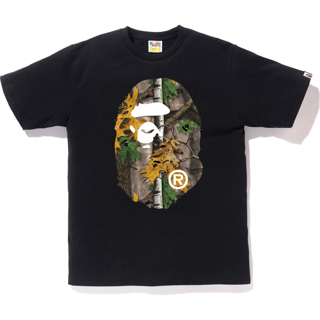 c53f5ef7 BAPE FOREST CAMO BIG APE HEAD TEE MENS | us.bape.com