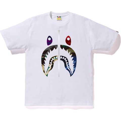 MIX CAMO SHARK TEE MENS