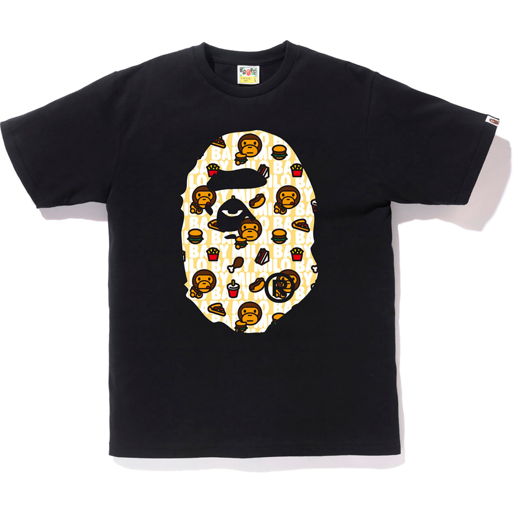 MILO JUNK FOOD BIG APE HEAD TEE MENS