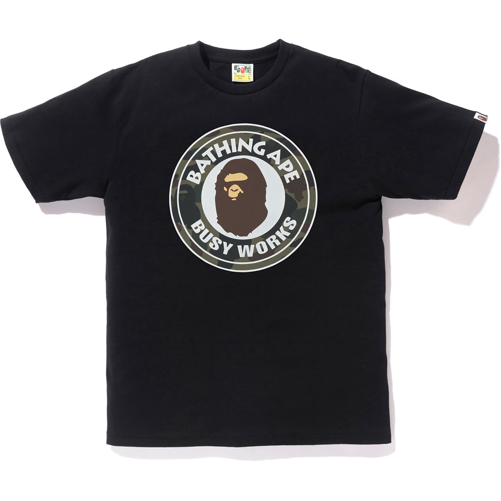 394c152ea REFLECTOR 1ST CAMO BUSY WORKS TEE MENS | us.bape.com