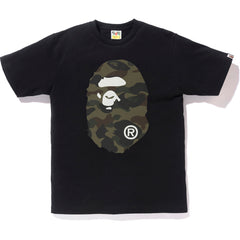 18a361883 NEW REFLECTOR 1ST CAMO BIG APE HEAD TEE MENS