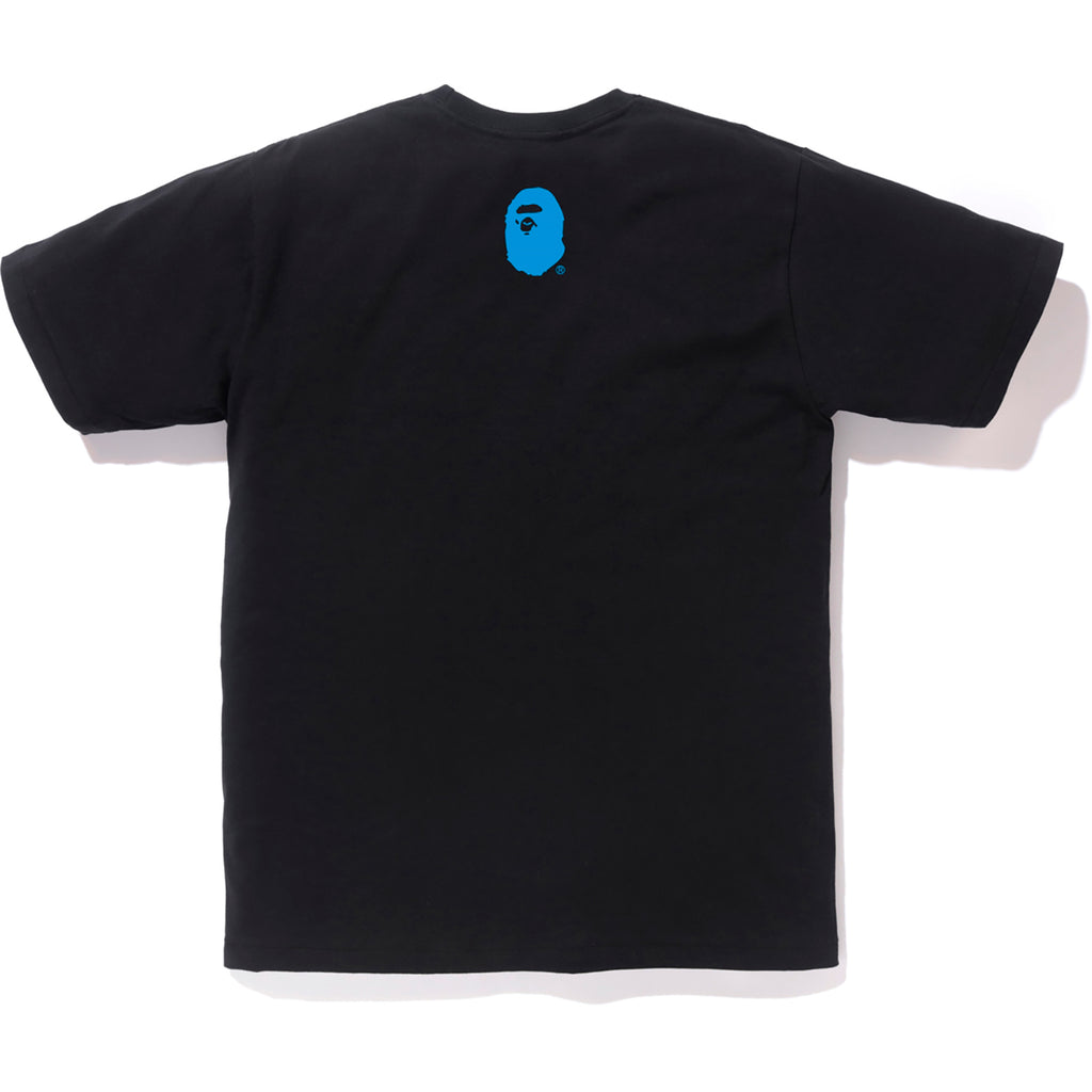 SPACE CAMO BAPE LOGO TEE MENS