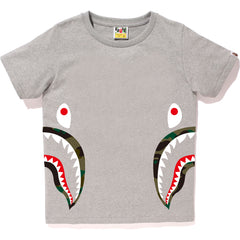 1ST CAMO SIDE SHARK TEE LADIES
