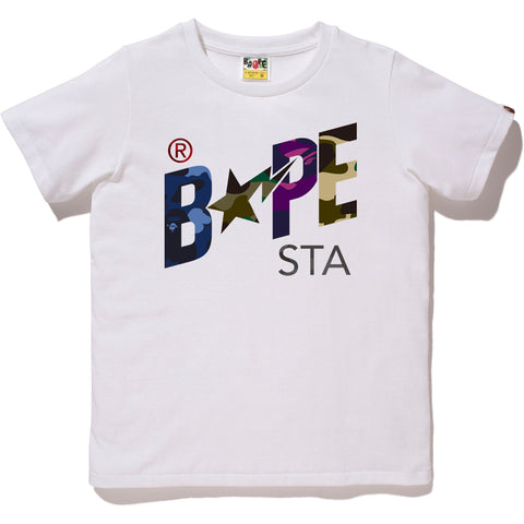 MIX CAMO BAPESTA TEE LADIES