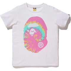 PIGMENT TIE DYE BIG APE HEAD TEE LADIES