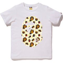 MILO JUNK FOOD BIG APE HEAD TEE LADIES
