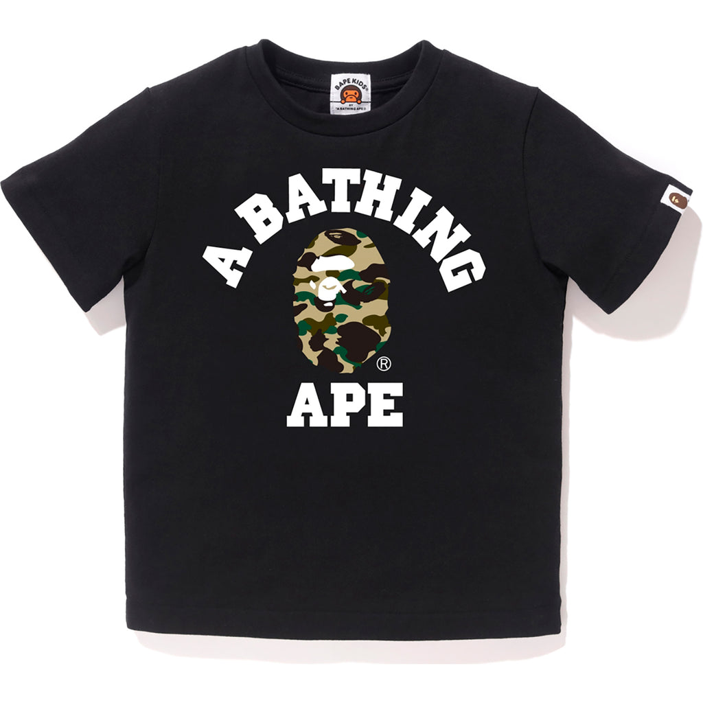 1ST CAMO COLLEGE TEE KIDS