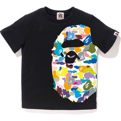 fe9c0f07 NEW Sold Out MULTI CAMO SIDE BIG APE HEAD TEE KIDS