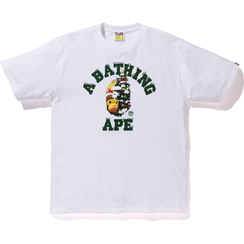 CHRISTMAS COLLEGE TEE MENS