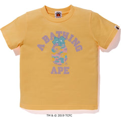 BAPE X CARE BEARS COLLEGE TEE KIDS