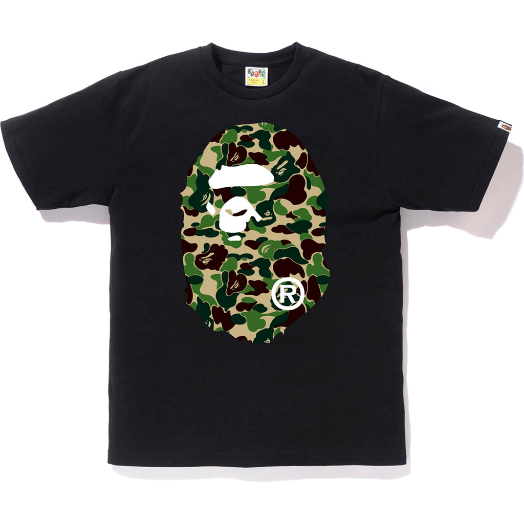 ABC CAMO BIG APE HEAD TEE MENS