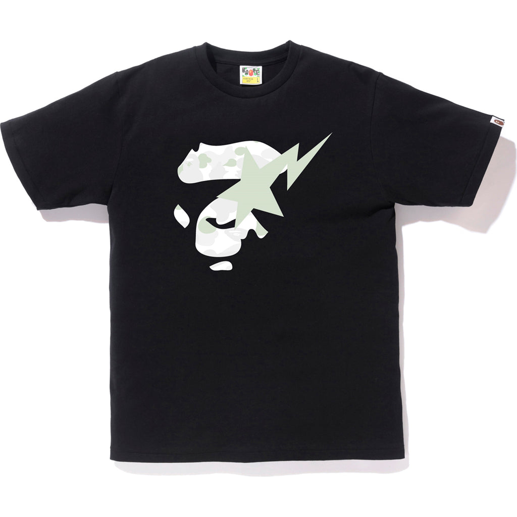 CITY CAMO APE FACE ON BAPESTA TEE MENS