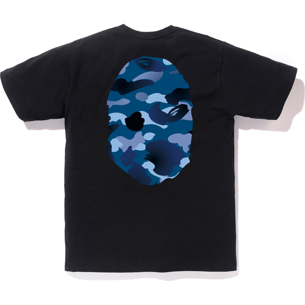 GRADATION CAMO BIG APE HEAD TEE MENS