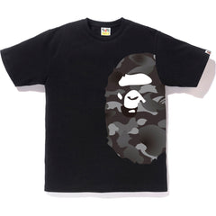 GRADATION CAMO SIDE BIG APE HEAD TEE MENS
