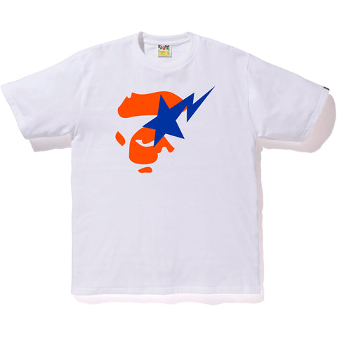 COLORS APE FACE ON BAPESTA TEE MENS