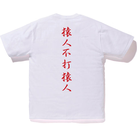 COLOR CAMO KANJI LOGO TEE MENS