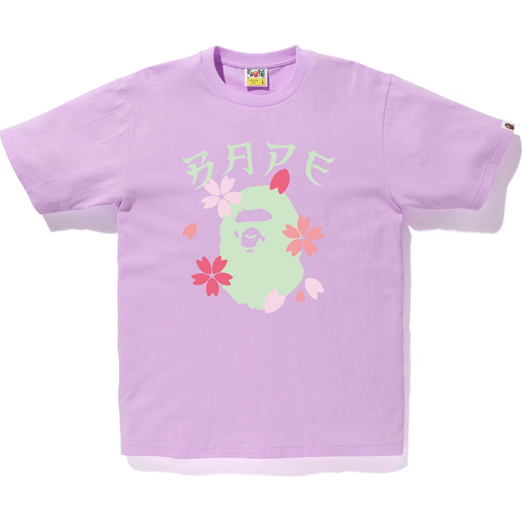 SAKURA APE HEAD TEE MENS