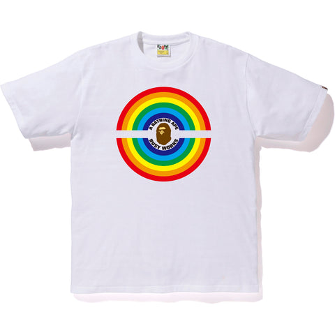 RAINBOW LOGO BUSY WORKS TEE MENS