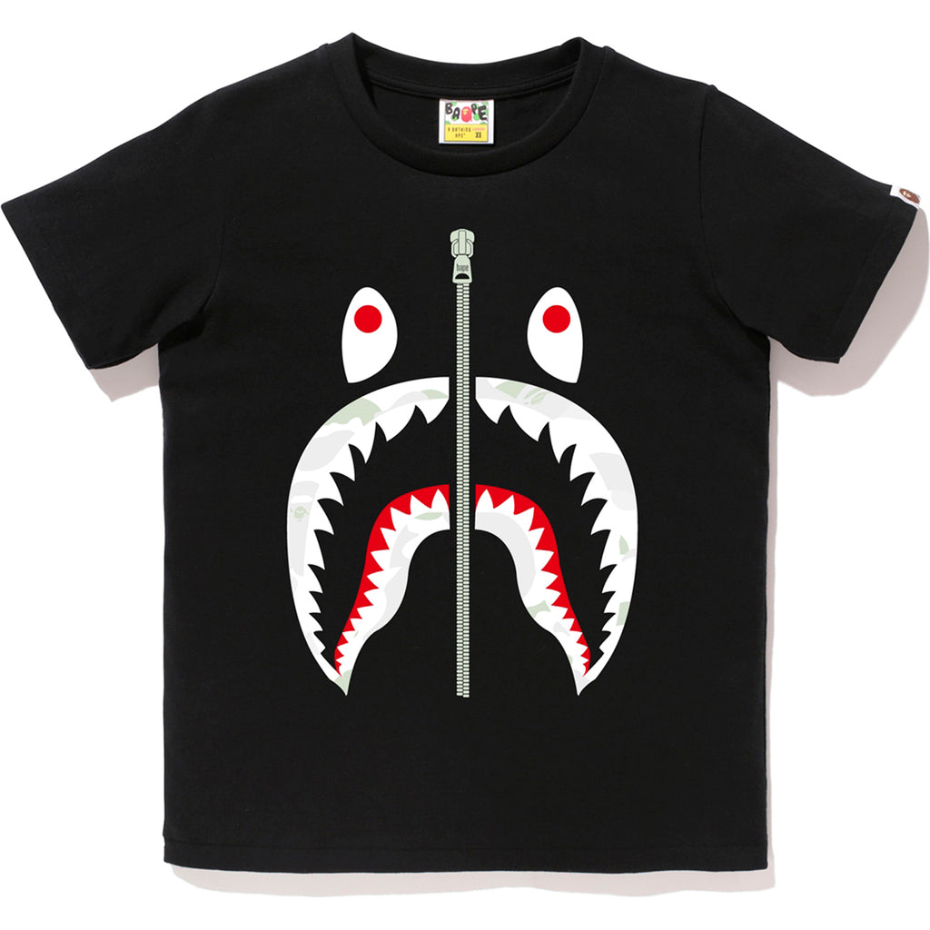 CITY CAMO SHARK TEE LADIES