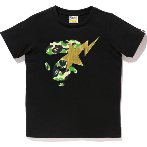 ABC APE FACE ON BAPESTA TEE LADIES