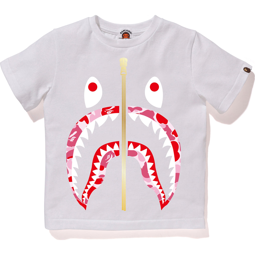 ABC CAMO SHARK TEE KIDS