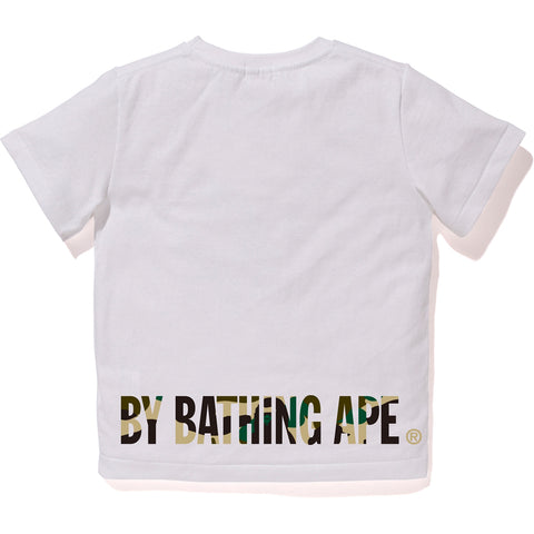 1ST CAMO APE FACE ON BAPESTA TEE KIDS