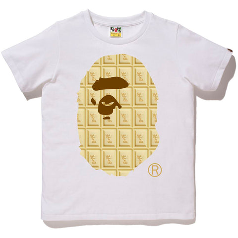 VALENTINE CHOCOLATE APE HEAD TEE LADIES