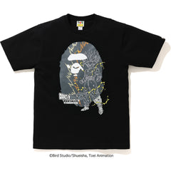 BAPE X DRAGON BALL Z SON GOHAN BIG APE HEAD TEE MENS