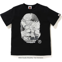 BAPE X DRAGON BALL Z BIG APE HEAD TEE KIDS