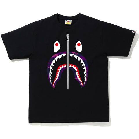 COLOR CAMO SHARK TEE MENS