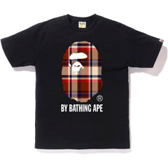 BAPE CHECK BY BATHING APE TEE MENS