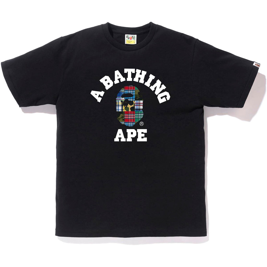 PATCHWORK COLLEGE TEE MENS