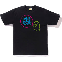 NEON SIGN GO APE TEE MENS