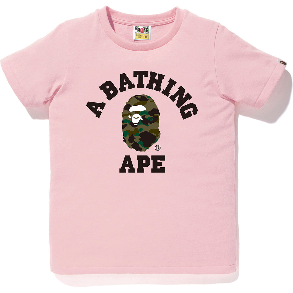 1ST CAMO COLLEGE TEE LADIES
