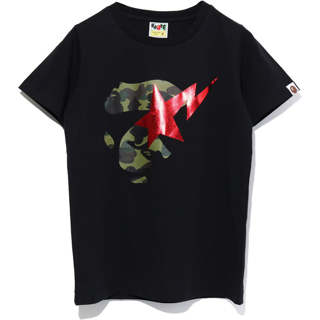 1ST CAMO APE FACE ON BAPE STA TEE LADIES