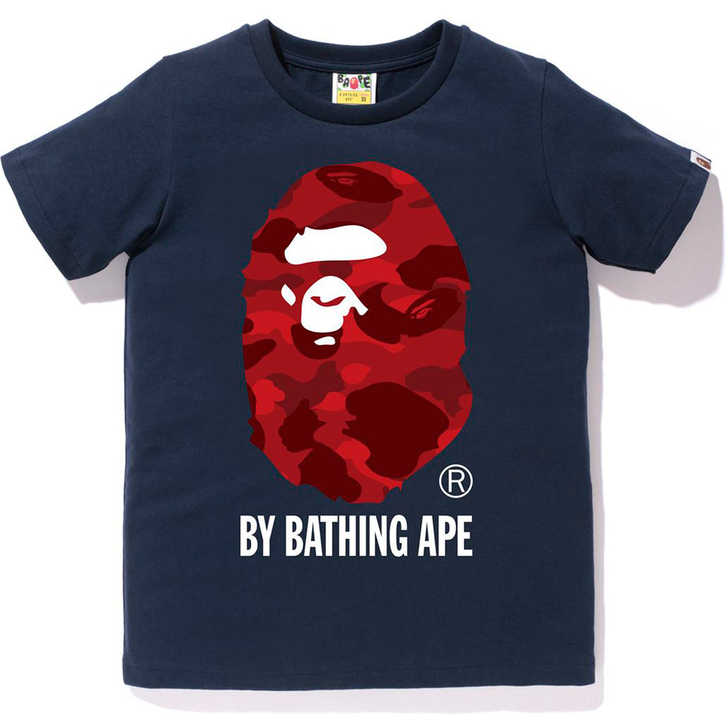 COLOR CAMO BY BATHING APE TEE LADIES