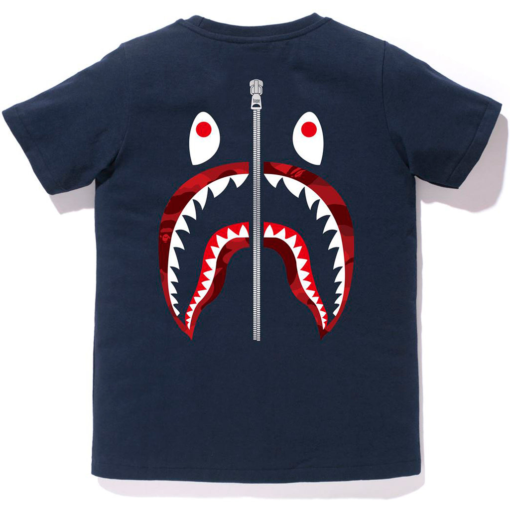 COLOR CAMO WGM SHARK TEE LADIES