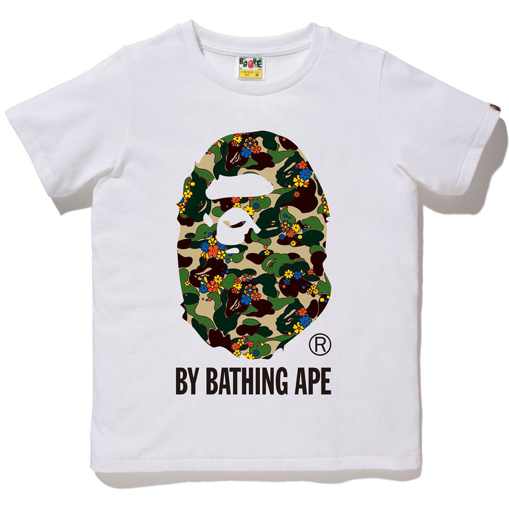 ABC CAMO FLOWER BY BATHING APE TEE LADIES
