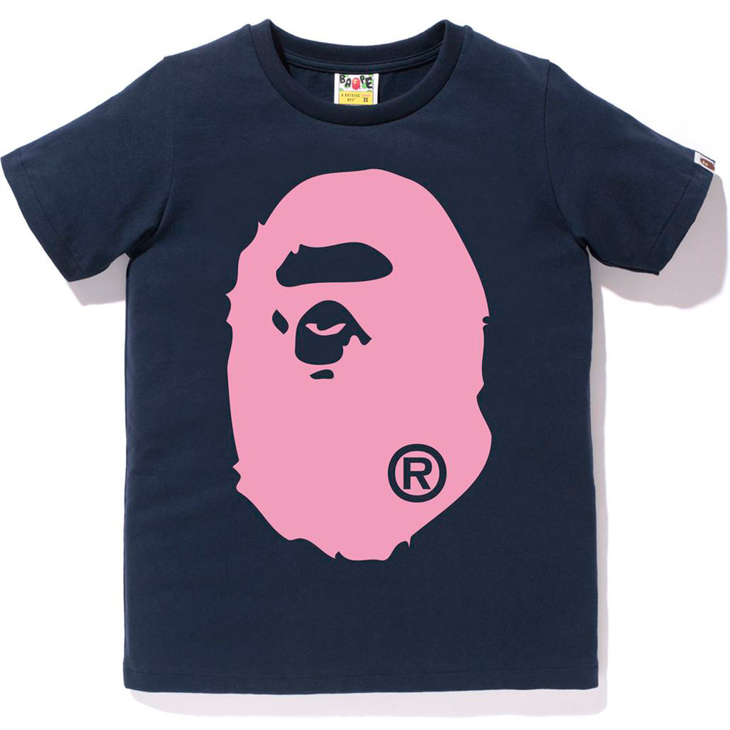 BICOLOR BIG APE HEAD TEE LADIES