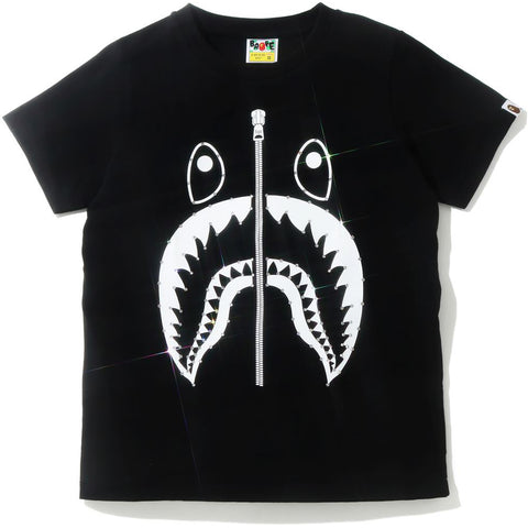 CRYSTAL STONE SHARK TEE LADIES