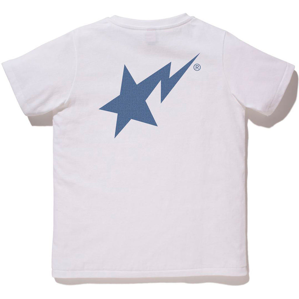 DENIM BAPE STA LOGO TEE LADIES