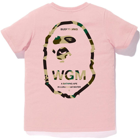 1ST CAMO WGM APE HEAD TEE LADIES